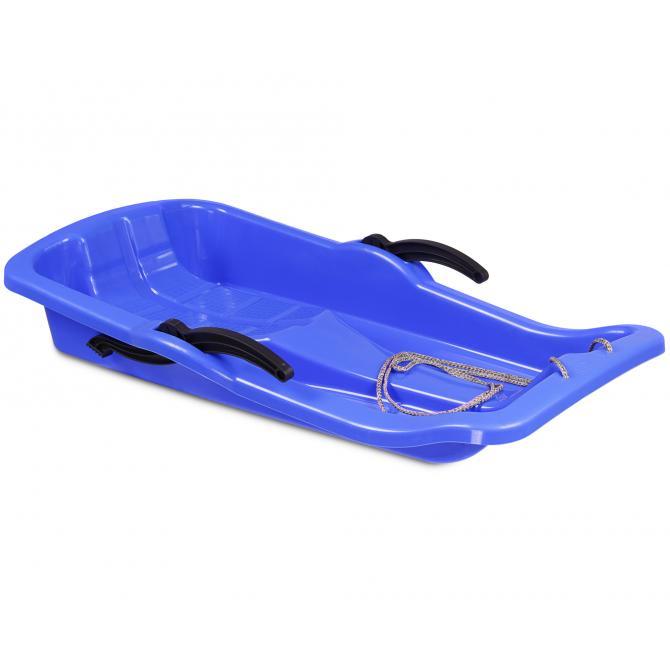 ONDIS24 Schlitten Premium mit Bremsen blau 79 cm