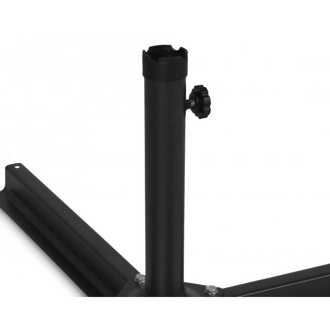 ONDIS24 Schirmständer Kreuz Ø 35-43mm für Sonnenschirme