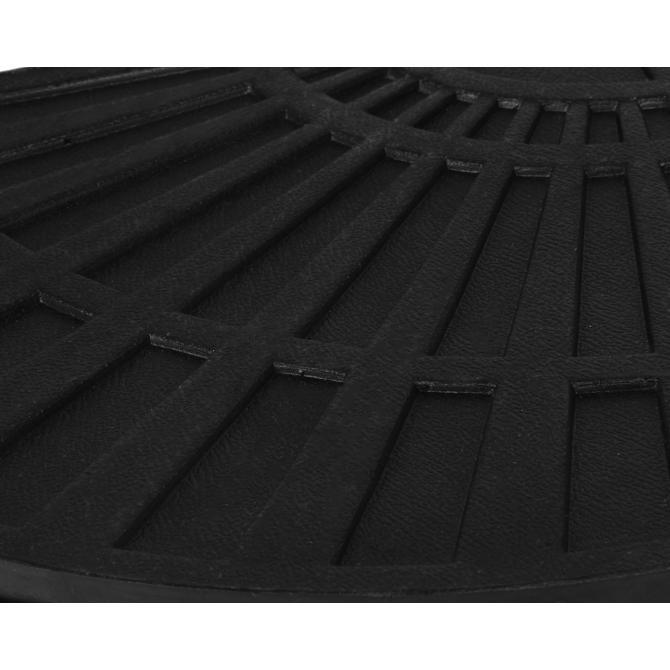 ONDIS24 1 x Platte für Kreuzständer Sonnenschirme schwarz