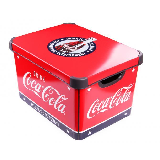 ONDIS24 Aufbewahrungsbox Coca Cola