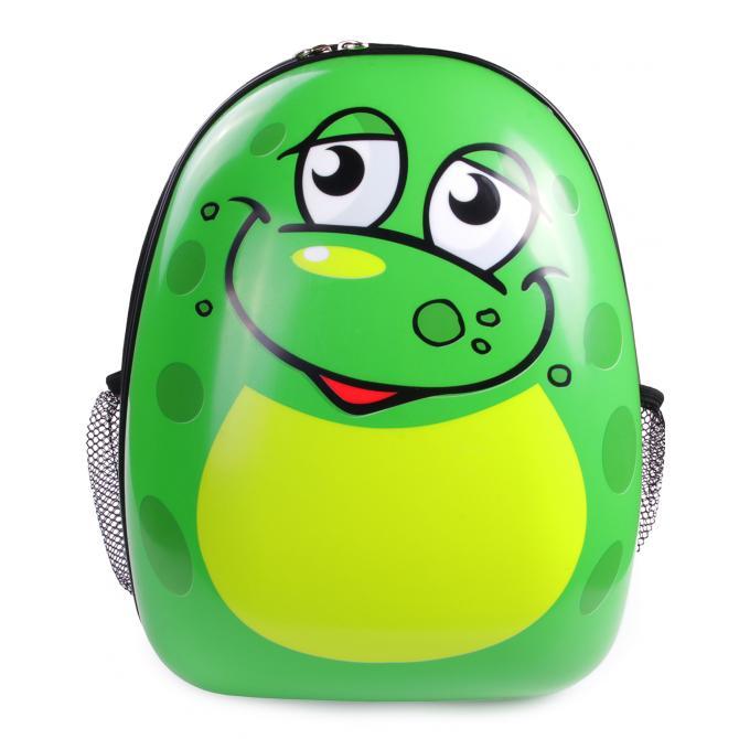 ONDIS24 Kinderrucksack Set Frosch & Schwein