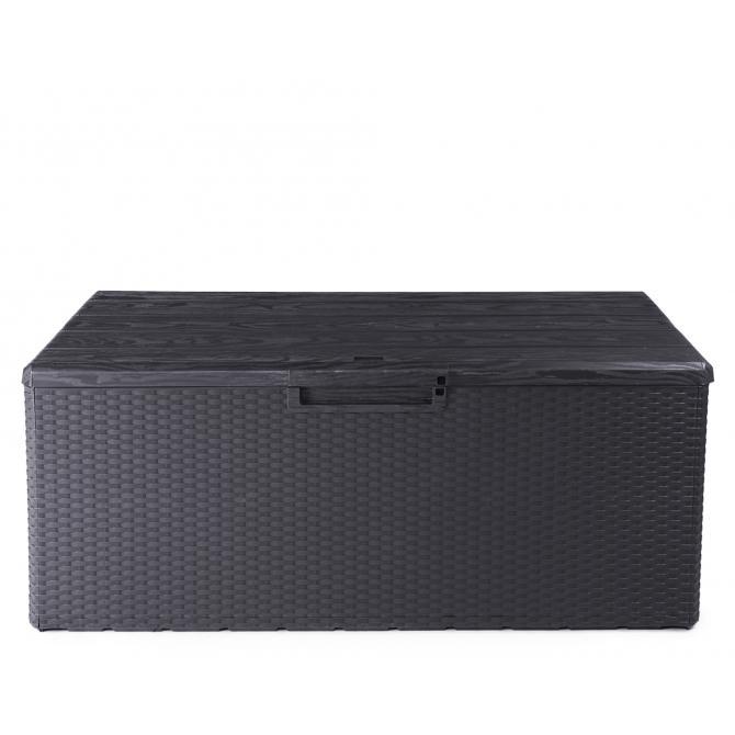 ONDIS24 Kissenbox Sitztruhe Fino anthrazit Modell 2021