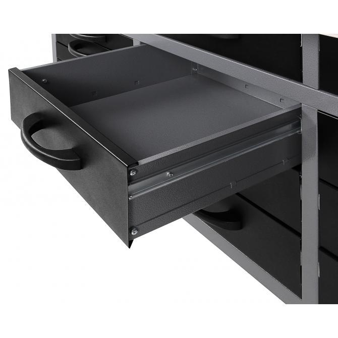 ONDIS24 Große Schublade komplett schwarz