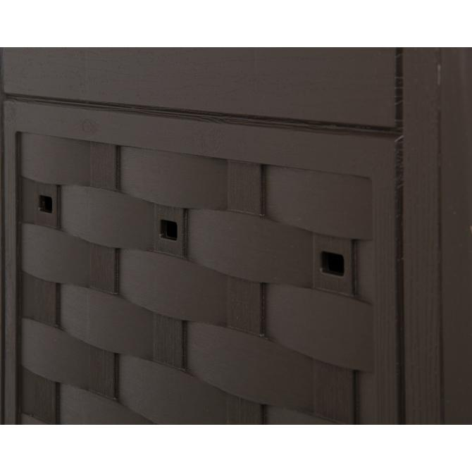 ondis24 komposter kompost rattan kunststoff braun g nstig online kaufen. Black Bedroom Furniture Sets. Home Design Ideas