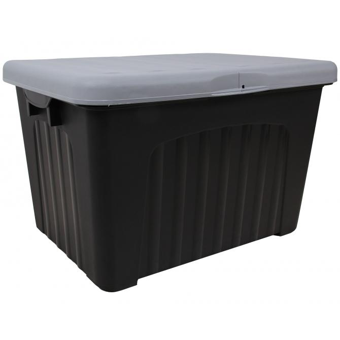 ondis24 lagerbox aufbewahrungsbox pandorino grau anthrazit. Black Bedroom Furniture Sets. Home Design Ideas