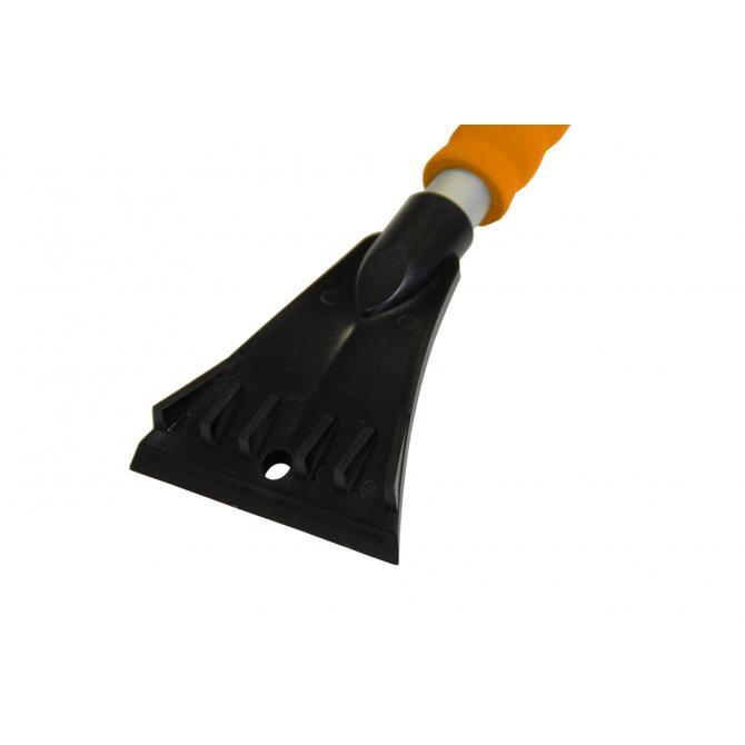 ONDIS24 Eiskratzer Besen Aluminium 55 cm orange