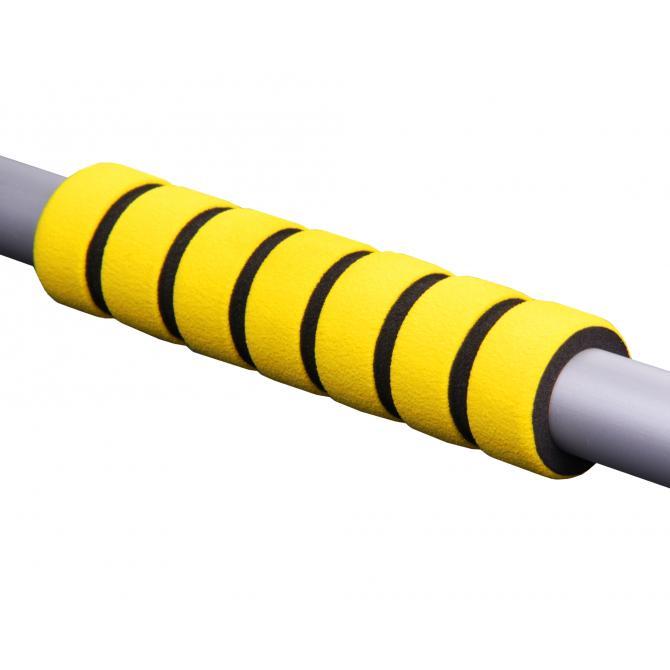 ONDIS24 Eiskratzer Besen Aluminium Schaft gelb 75 cm