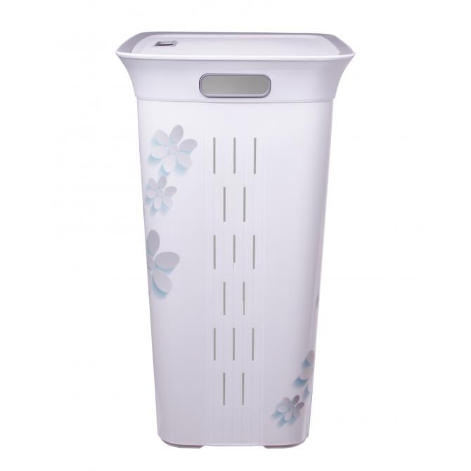 ONDIS24 Moda Wäschekorb Wäschebox Flowers 60 Liter