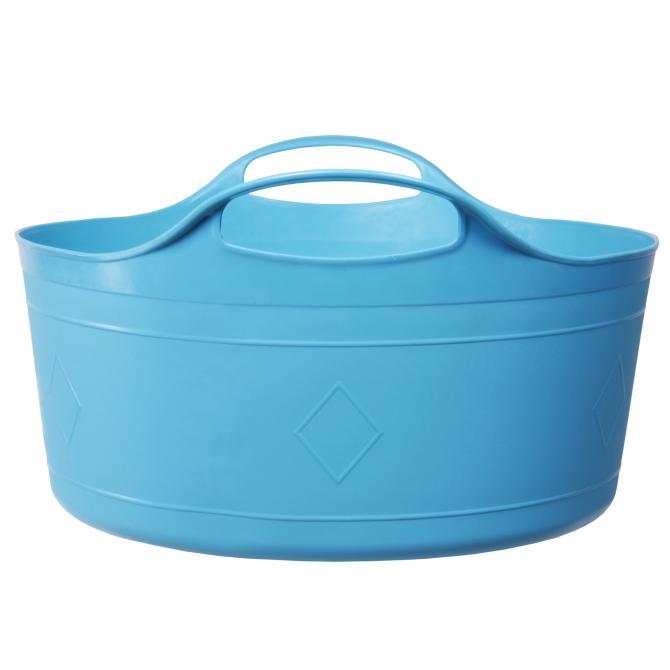 ONDIS24 Flexi Tub 17 L hellblau flach