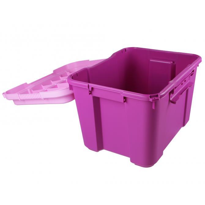 ONDIS24 Spielzeugbox Atlas Funny pink