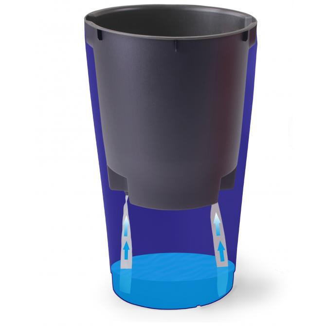 ondis24 rio blumentopf vase 50cm mit wasserspeicher g nstig online kaufen. Black Bedroom Furniture Sets. Home Design Ideas