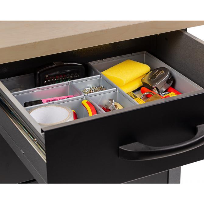 ONDIS24 Schubladen Ordnungssystem Werkstatt Combini Set 21