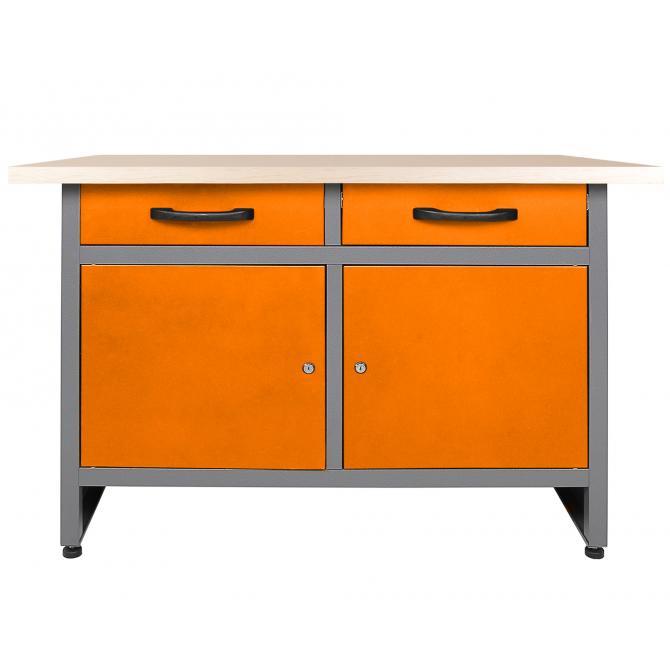 ONDIS24 Werkstatt-Set Ecklösung Sparfuchs Plus orange