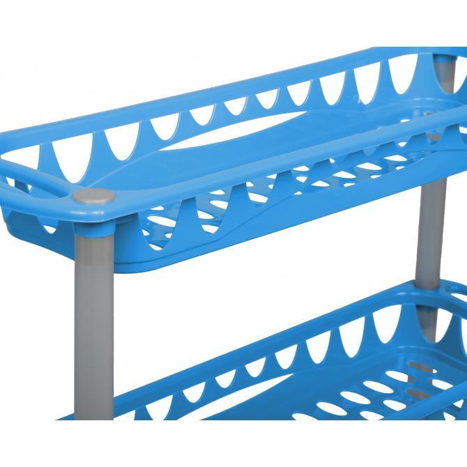 ONDIS24 Badwagen Nischenwagen Still blau