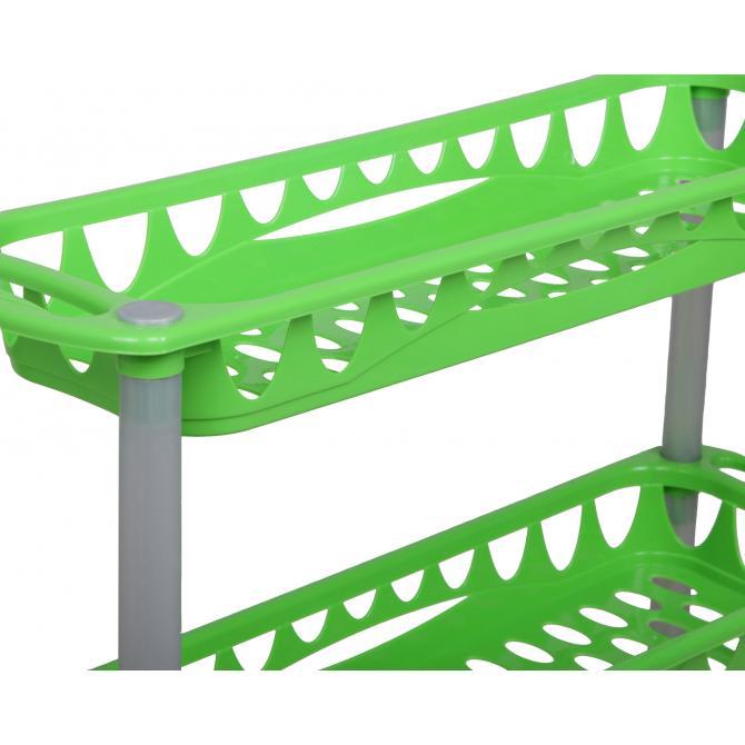 ONDIS24 Badwagen Nischenwagen Still grün