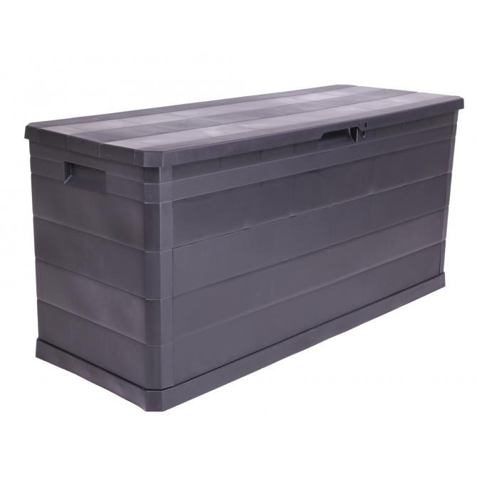 ONDIS24 Kissenbox Sitztruhe Elegance schwarz