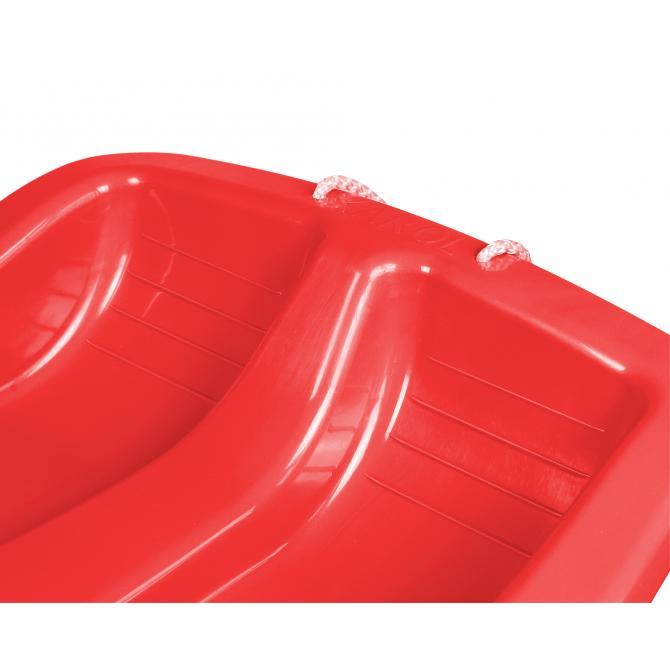ONDIS24 Schlitten Premium mit Bremsen rot 79 cm