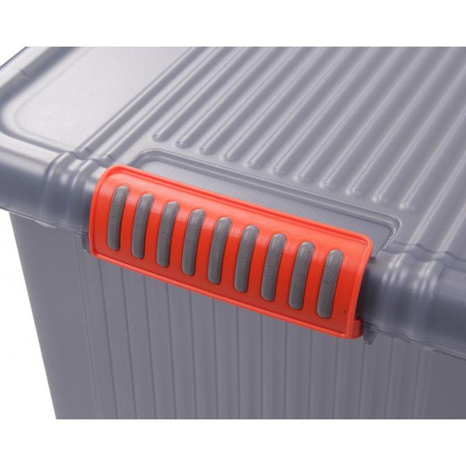 ONDIS24 Aufbewahrungsbox K-Latch M grau