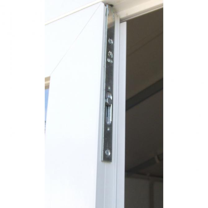 ONDIS24 UNTILITY Gartenhaus V7.5 2-türig grau/weiß
