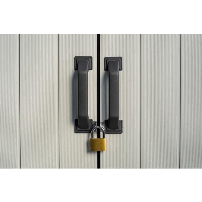 ONDIS24 Keter Gartenschrank Geräteschuppen Premier Tall Cabinet