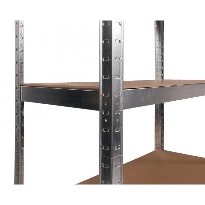ONDIS24 Steckregal Metallregal Flori 75 x 30 x 172 verzinkt