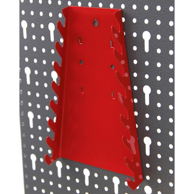 ONDIS24 Lochwand mit Metall Haken rot
