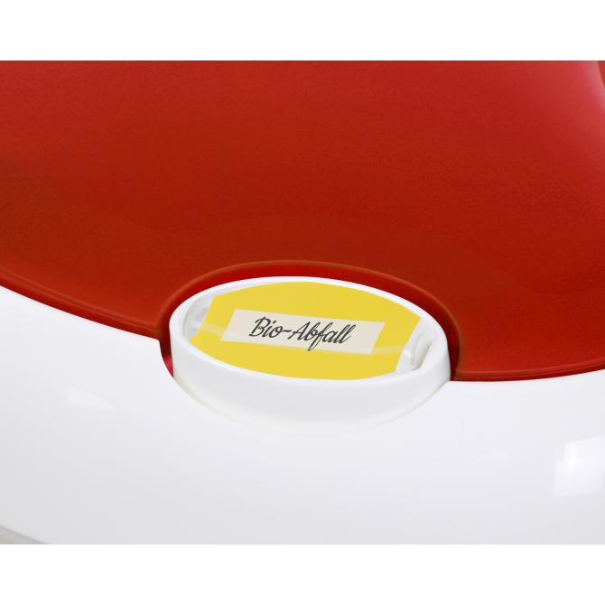 ONDIS24 Mülleimer Lotus Modul 30 Liter rot