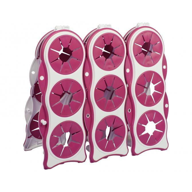 ONDIS24 Flaschengestell Brindo pink