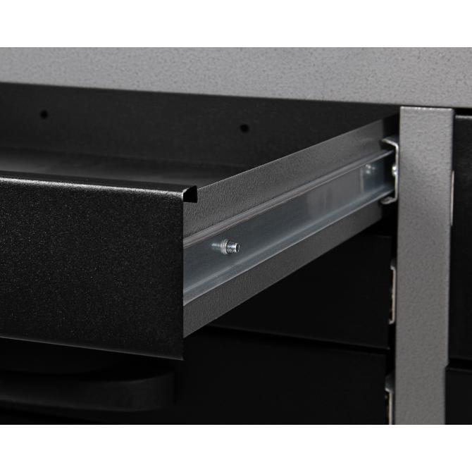 ONDIS24 Werkstatt Set Konny 160 cm 3 Schränke LED