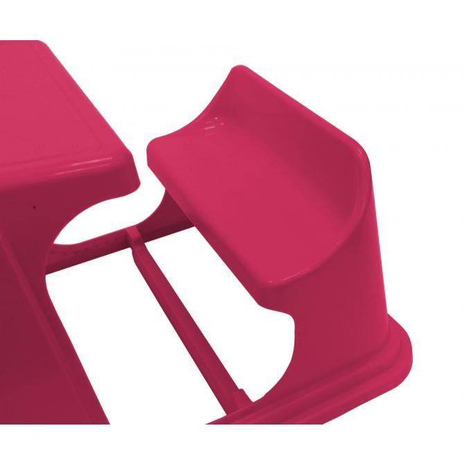 ondis24 kindertisch mit bank schulbank fuchsia g nstig. Black Bedroom Furniture Sets. Home Design Ideas