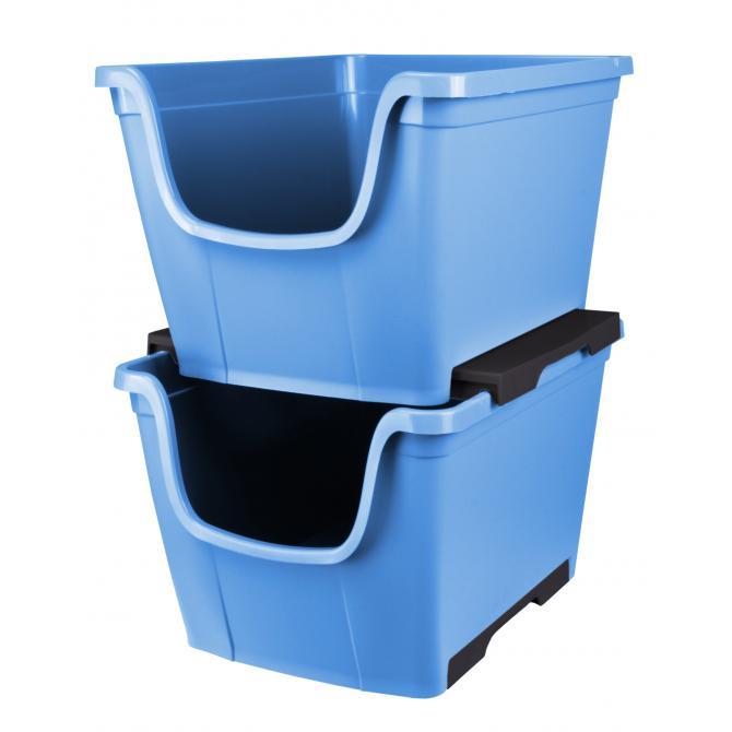 ONDIS24 Schubladenbox Wow Freedom blau
