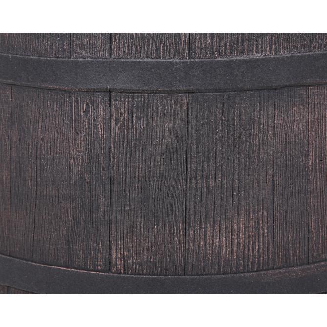ondis24 regentonne 500 liter wasserbeh lter eichenfass fass g nstig online kaufen. Black Bedroom Furniture Sets. Home Design Ideas