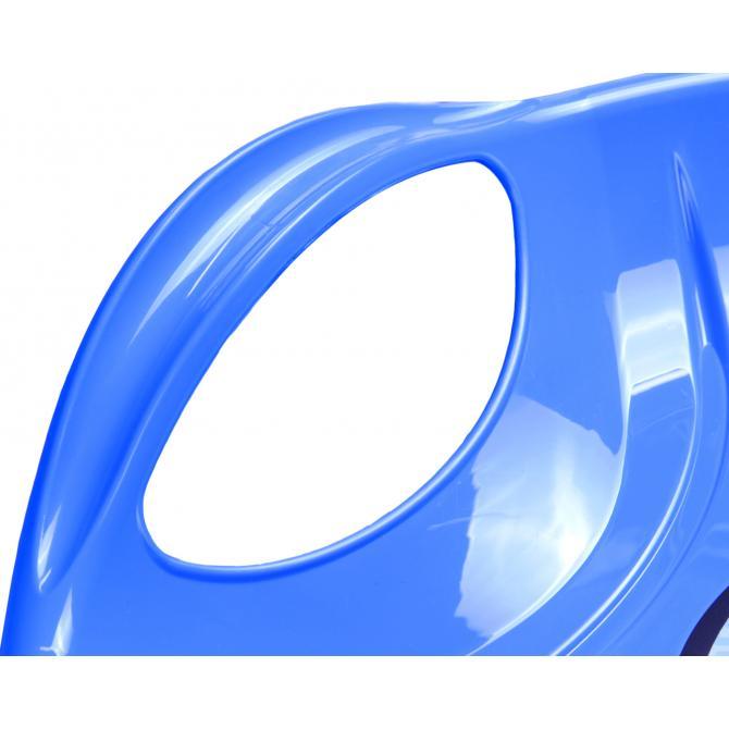 ONDIS24 Schlitten Tellerschlitten Kamikaze blau 60cm