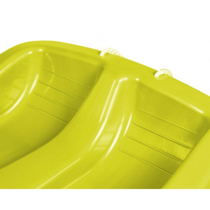 ONDIS24 Schlitten Basic Rodel gelb 79 cm