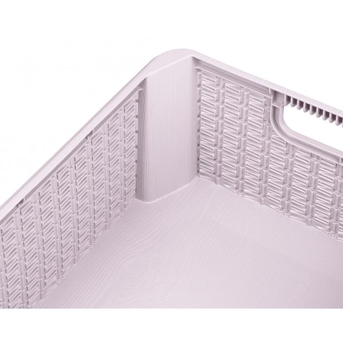 ONDIS24 Aufbewahrungsbox Rattan Optik Decora M