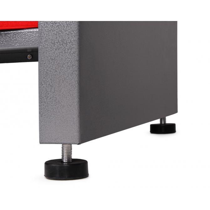 ONDIS24 Werkstatt Set Karsten 160 cm 1 Schrank rot
