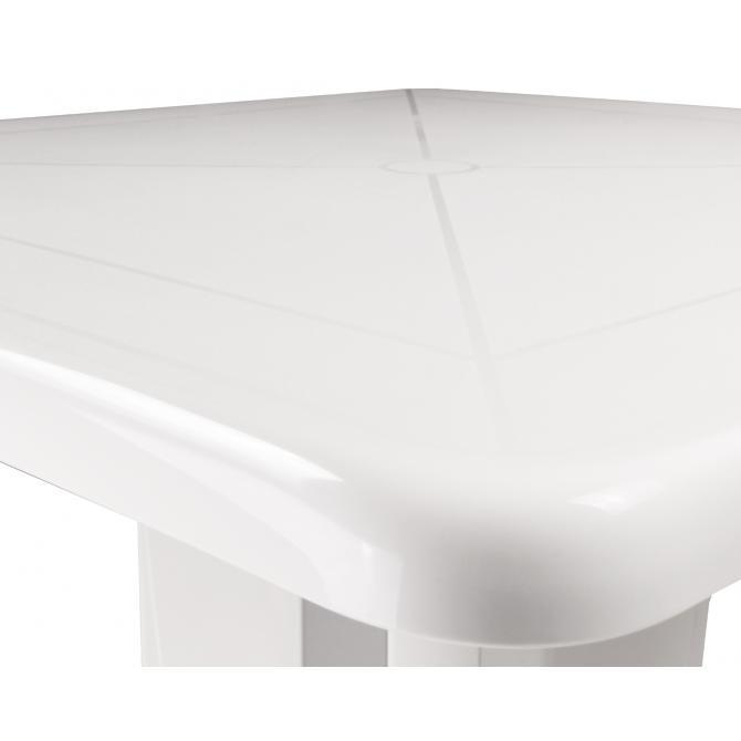 ONDIS24 Klapptisch Vega weiß Balkontisch 80x80 UV-beständig