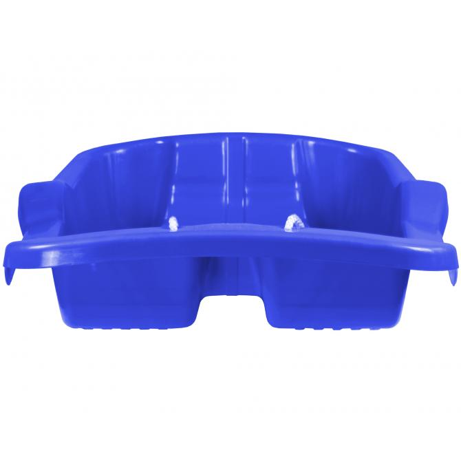 ONDIS24 Schlitten Basic Rodel blau 79 cm