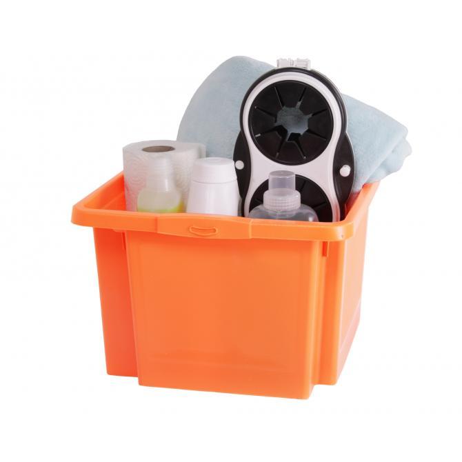 ONDIS24 Dreh- und Stapelbox H orange