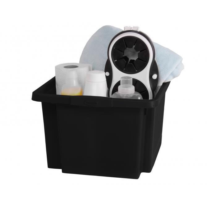 ONDIS24 Dreh- und Stapelbox H schwarz