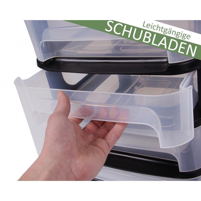 ONDIS24 Schubladenturm Tour City 10 Schubladen