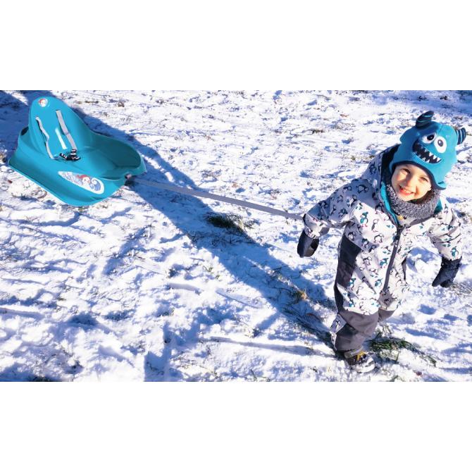 ONDIS24 Bob Kinderschlitten mit Lehne