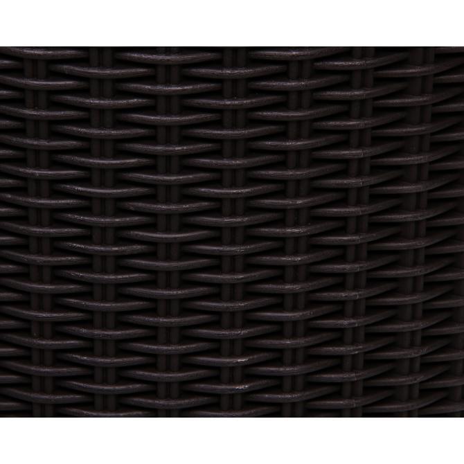 ondis24 rattan pflanzk bel zylinder l braun g nstig online. Black Bedroom Furniture Sets. Home Design Ideas