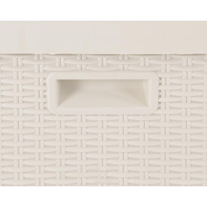 ONDIS24 Kissenbox Sitztruhe Santo Kompakt 120 L