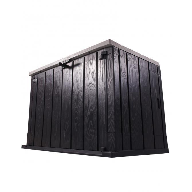ONDIS24 Gartenbox Mülltonnenbox Storer anthrazit