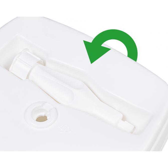 ONDIS24 Schirmständer Kunststoff weiß Ø 18-32 mm