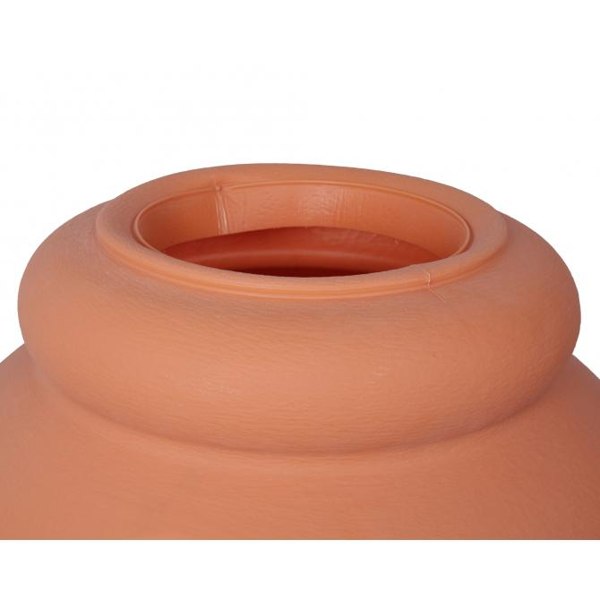 ONDIS24 Regentonne Wasserbehälter Amphore Terracotta 360L
