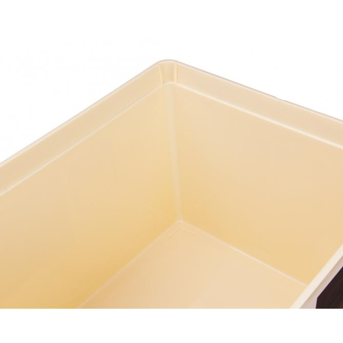 ONDIS24 Aufbewahrungsbox Style Box Cube Retro Design Technik mit Dec