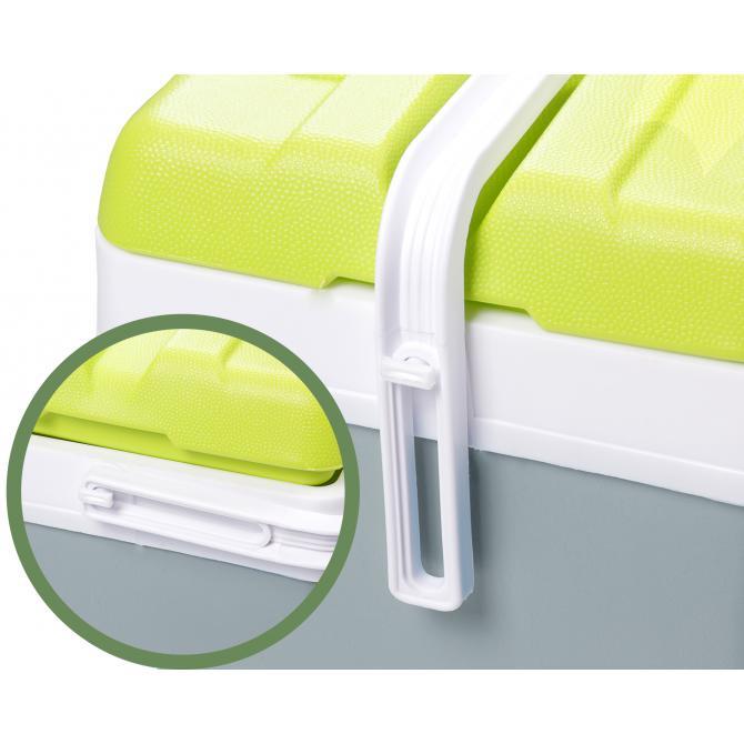 ONDIS24 Kühlbox Thermobehälter Promo 15 Liter grau