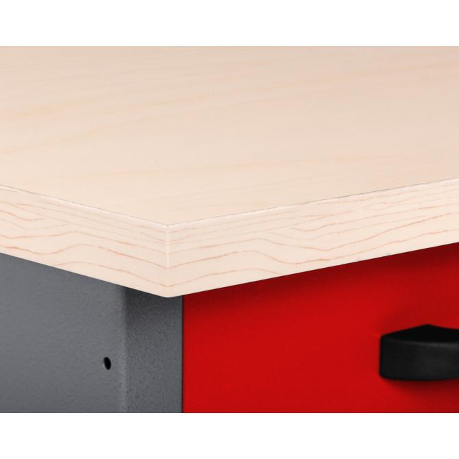 ONDIS24 Werkbank Karsten 160 cm rot
